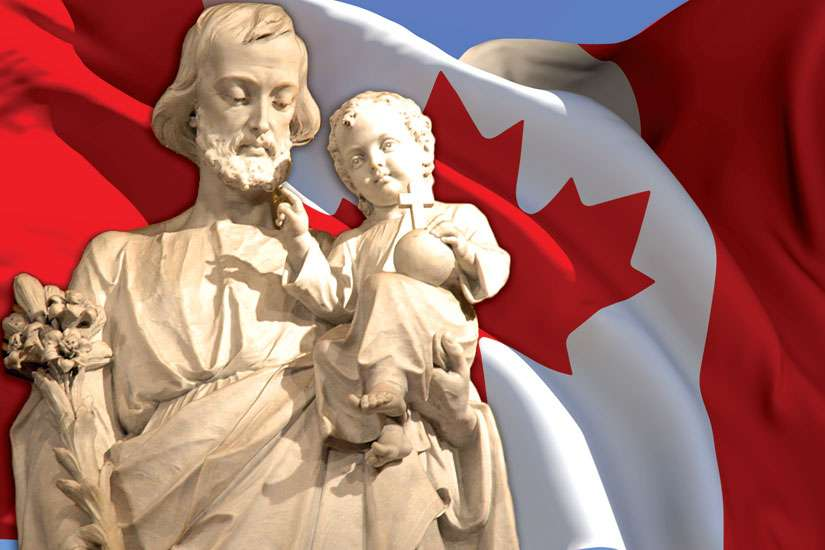 St. Joseph has been entrusted to care for Canada since the earliest Europeans arrived here.