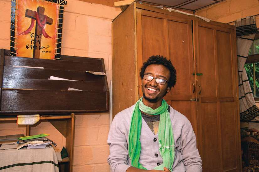 Young people in Ethiopia seek to experience deep spiritual knowledge, says Gemechu Bekele Lemu,  Christian Life Community co-ordinator in Addis Ababa.