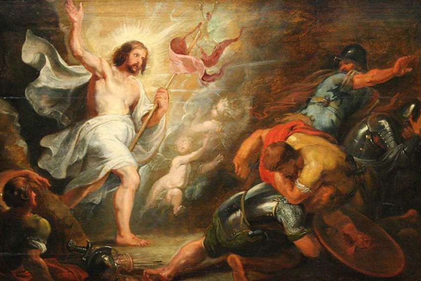 """The Resurrection"" by Peter Paul Rubens, 1640"