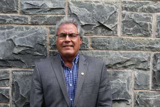 """One of the first things I noticed in my first week is how inclusive this campus is,"" said Small Legs-Nagge, who last month began his new job as special advisor to the president on aboriginal affairs."