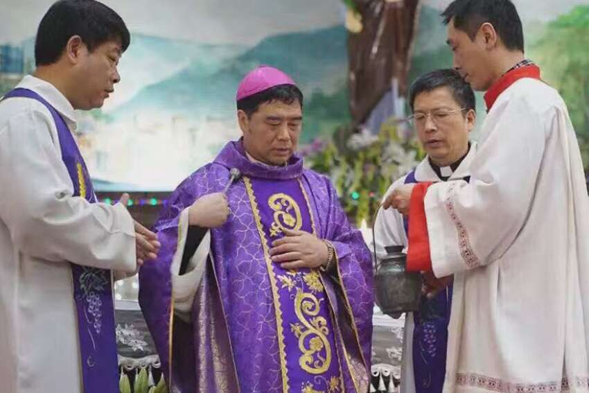 Chinese bishop detained briefly during Holy Week