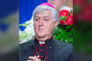Bishop Noel Simard of Valleyfield, Quebec worries that euthanasia, now legalized, will become a moral duty.