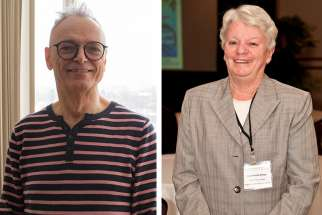 Dr. Louis Girard (left) and Dr. Nuala Kenney have both let the Gospel help guide their career choices.