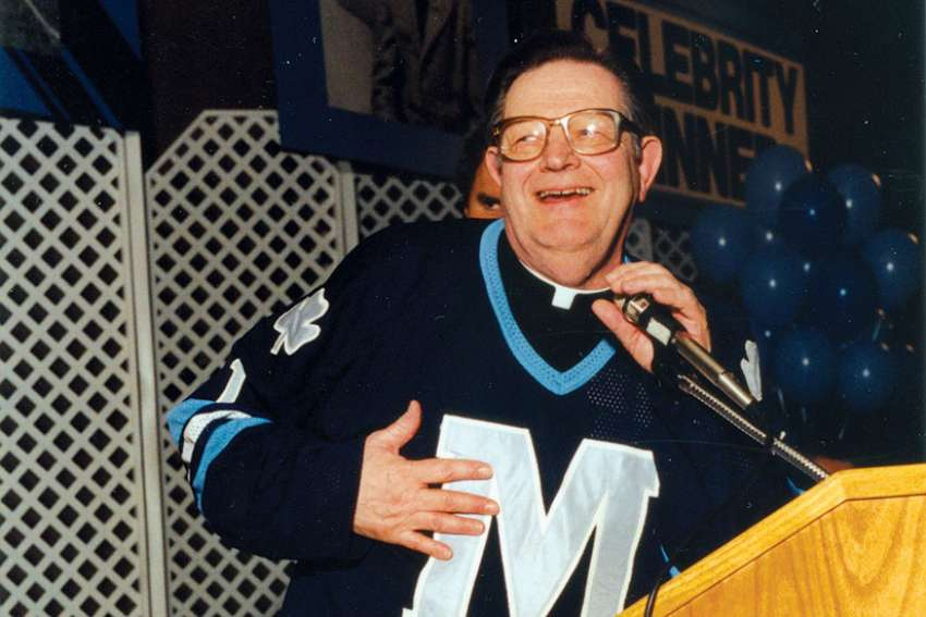 Fr. David Bauer was a multifaceted man whose contributions to his faith, hockey, family and country were remarkable.