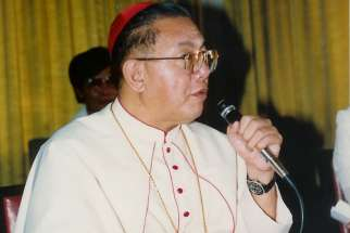 Archbishop Socrates Villegas of Lingayen-Dagupan recalls the influential late-cardinal Jaimie Sim, pictured, Feb. 26 as the Philippines deals with thousands of deaths as a result of President Rodrigo Duterte's 'war on drugs.'