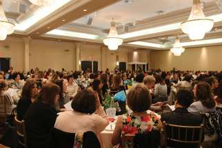 More than 600 women attended the Women of the Word event in Toronto earlier this year.