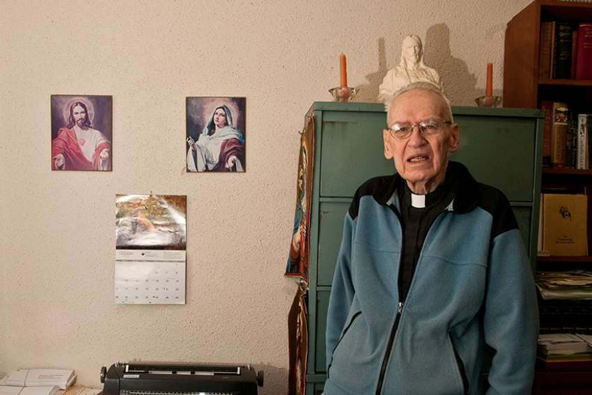 Fr. Fred dedicated 56 of his 75 years in religious life to promoting devotion to the Sacred Heart of Jesus.