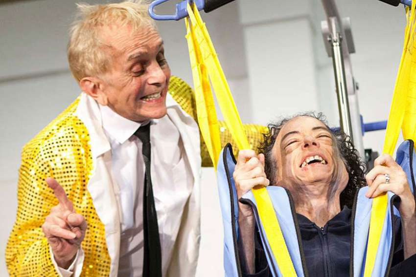 A theatre group in the United Kingdom is tackling the topic if assisted suicide through the medium of theatre.