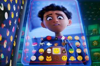 "Alex, voiced by Jake T. Austin, appears in the animated movie ""The Emoji Movie."""