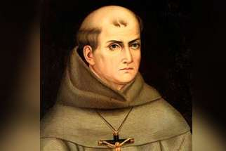 Blessed Junipero Serra, a Spanish Franciscan who ministered in U.S. and Mexico, is pictured in an undated painting. During his flight from Sri Lanka to Manila, Philippines, Jan. 15, Pope Francis said he would canonize Blessed Junipero in September.