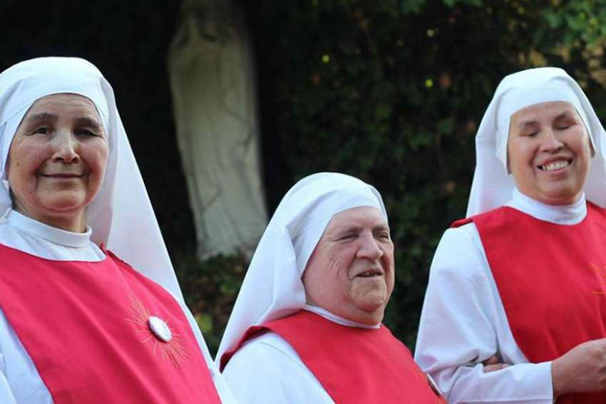 The Sacramentine Sisters of Don Orione in Santiago, Chile.