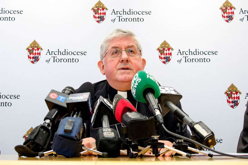 Archdiocese of Toronto looking to sponsor 100 Syrian refugee families