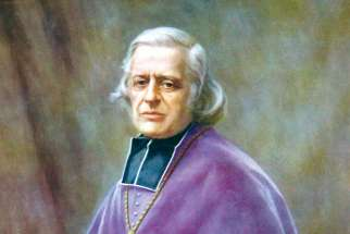 St. Eugene de Mazenod, when he was archbishop of Marseilles.