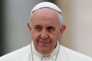 Be ready with God's weaponry; devil is real, pope says