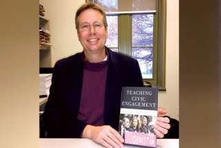 Reid Locklin's new book examines different teaching approaches to help students become more civically engaged.