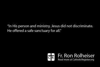 Churches must be a sanctuary for all