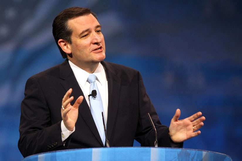 U.S. Republican presidential candidate Ted Cruz is trying to end taxpayer support of Planned Parenthood and reaching out to evangelicals to do so. He is pictured here in a 2013 photo.