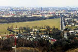 Blonia Park is seen in an undated photo from the Kosciuszko Mound in Krakow, Poland. The park will be one of the major gathering spots for World Youth Day pilgrims during the July 26-31 festival, and security officials in Poland are working to ensure participants are safe throughout the event.